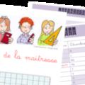 cahier de la maitresse - carnet de bord - outil - Vie de maitresse