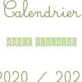 Mini - Calendrier 2020 - 2021 VIE DE MAITRESSE blog enseignant cycle 2 cycle 3