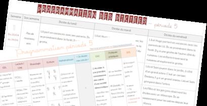Progressions période 5 CE1 - année 2019-2020 - VIE DE MAITRESSE blog
